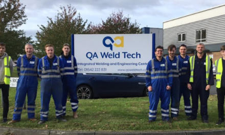 North East Welding and Engineering Company Sees Largest Ever Intake of Apprentices
