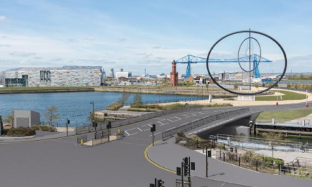 New Middlehaven Dock Bridge Enters Key Build Phase