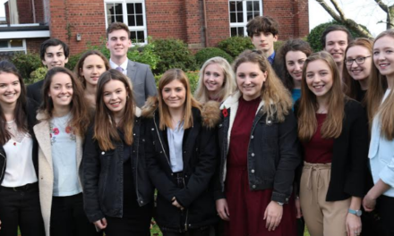Ripon Grammar School leavers return for prize honours