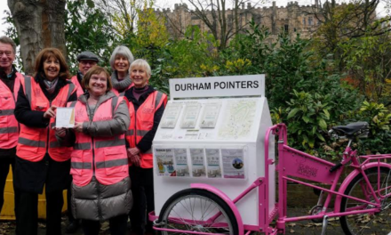 Durham's Volunteer Pointers named North East's Best Tourism Information Providers