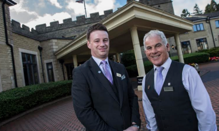 Concierge Team at Slaley Hall Mark 55 Years of Service