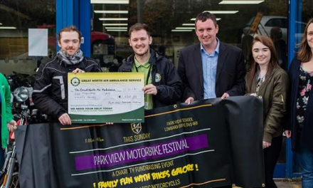 Motorbike festival raises money for North East charities