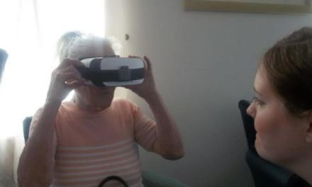 Newcastle's elderly get VR tour of North East