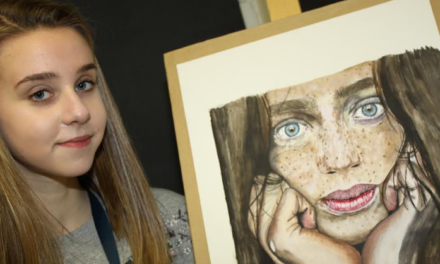 Sixth former wins gold in art contest