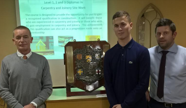 Talented apprentice awarded highest accolade