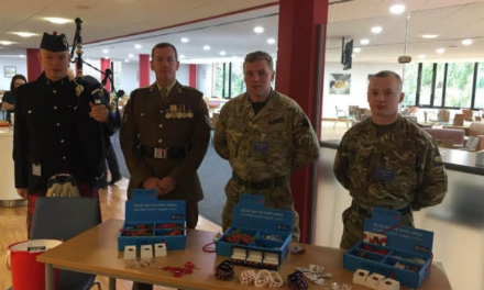 Wilton Centre Raises £900 for Poppy Appeal