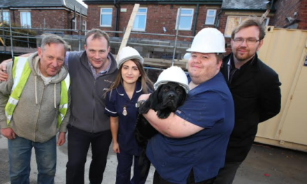 Work underway to revamp Stockton veterinary practice