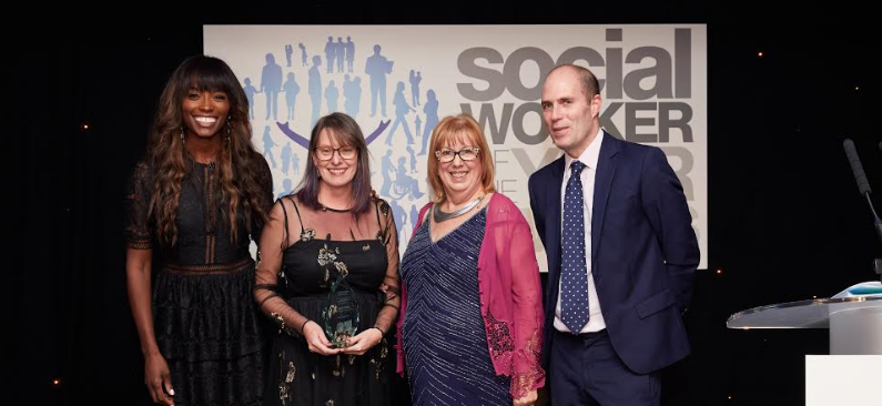 Redcar and Cleveland Social Worker Wins Top Award at National Ceremony