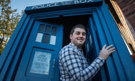 Sunderland man rescues Doctor Who – again