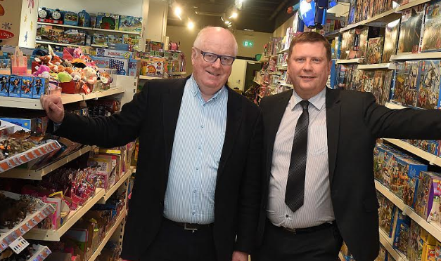 Toytown Opens as Christmas Rush Begins