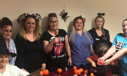 Spooky sensory session for Stockton care home