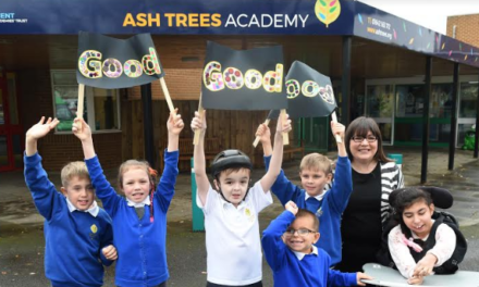 Teesside school celebrates Ofsted rating
