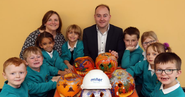 Bedlington Children give Showhome a Spook-tacular Edge