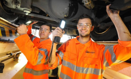 Go North East puts eight young people on the road to engineering careers