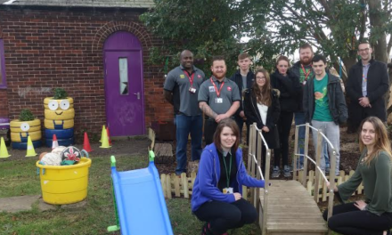Prince's Trust Team muck in for the community