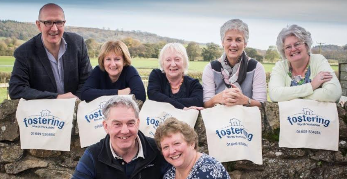 Fostering North Yorkshire says thanks to Keith and Gill