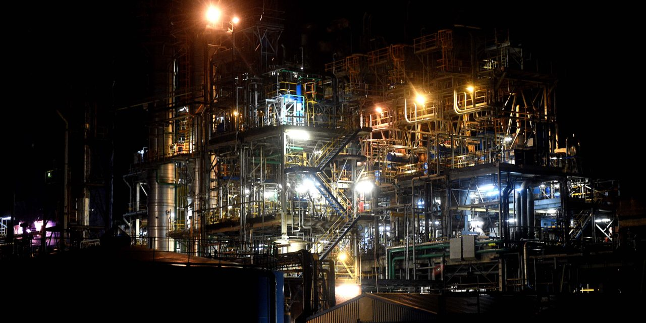 Dozens take Night-time Tour to Discover Teesside's Industrial Heritage