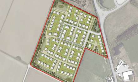 Plans approved for 166 new Amble homes