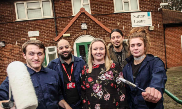 Steel fund's £2000 helps unemployed youngsters support youth club project