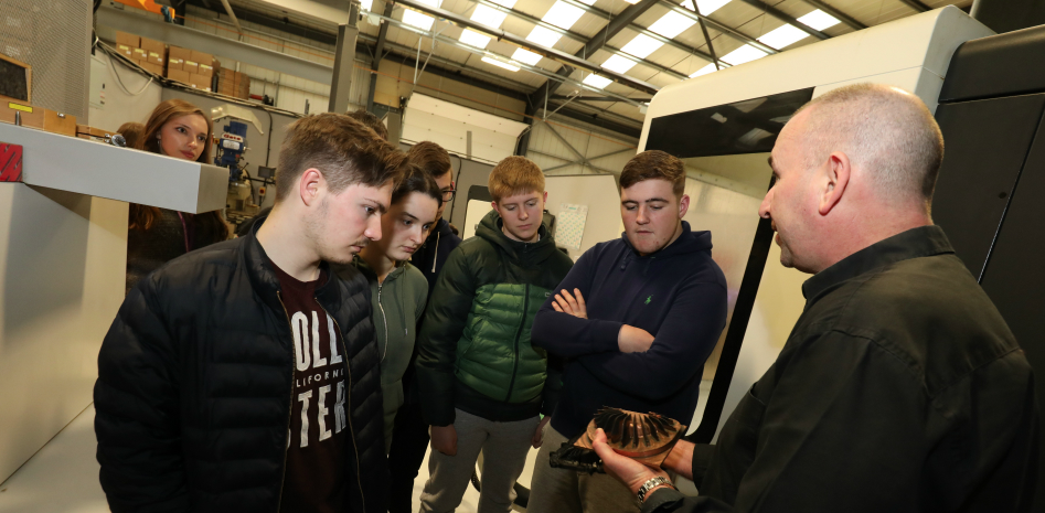 Students go behind the scenes at Hartlepool manufacturing plant