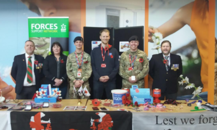 Army Veteran Honours British Legion at Workplace Fundraiser