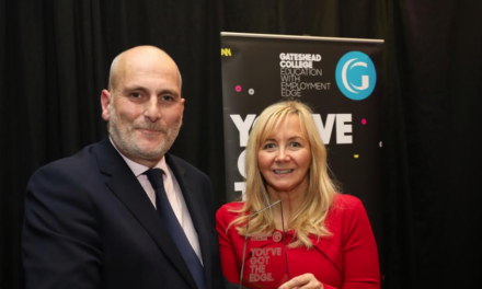 Apprenticeship awards recognise businesses with edge