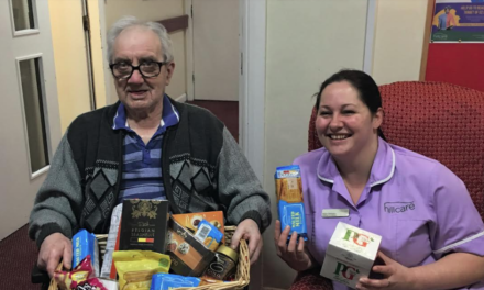 Care home's Christmas food bank drive appeal