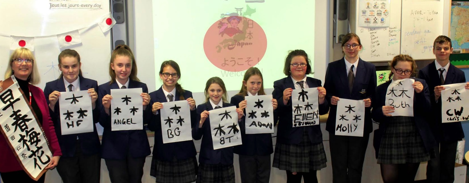 Students turning Japanese to broaden horizons