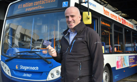BUS OPERATOR HITS £1MILLION MILESTONE FOR CONTACTLESS PAYMENTS ACROSS THE NORTH EAST