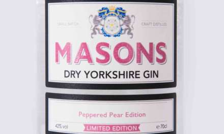MASONS DRY YORKSHIRE GIN ANNOUNCES NEW PEPPERED PEAR LIMITED-EDITION