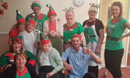 Elf Day kick starts care home's Christmas celebrations