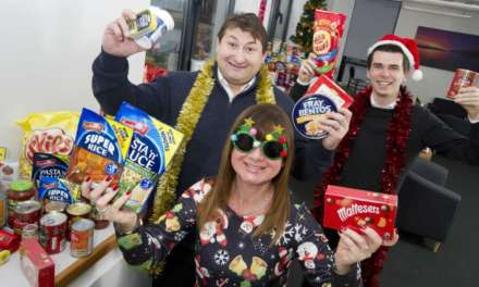 PR firm gives gift of food for Christmas