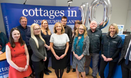 North East holiday lettings firm celebrates ten years