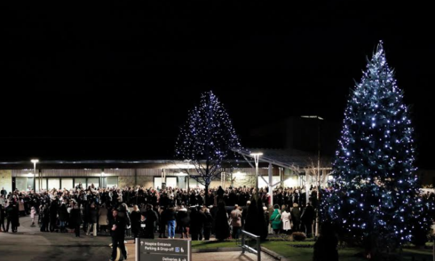 Thousands raised at hospice's annual Light up a Life ceremony