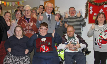 People with learning disabilities make friends thanks to Northumberland Freemasons