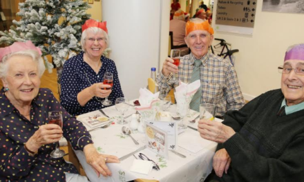 Christmas celebrations get into full swing at Weavers' Court