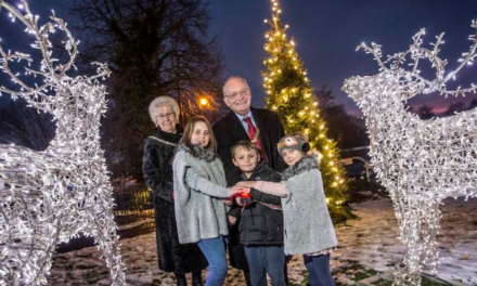 Bradley remembered at Christmas switch on