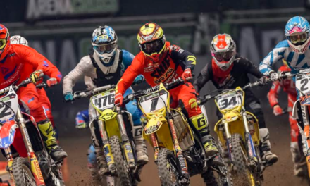 Arenacross Tour 2018 – Local 14 Year Old Buster Hart Competes on Home Turf