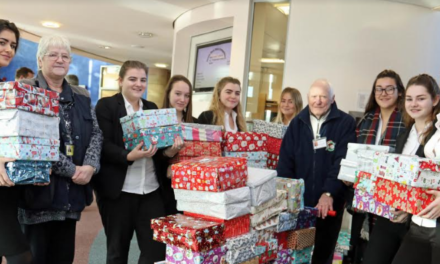 Sixth formers organise Christmas gift donations for needy