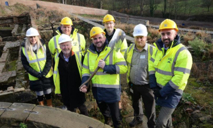 Work Begins on Historic Walled Garden