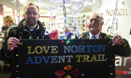Love Norton Advent Calendar Trail Launched
