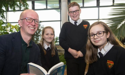 Writer returns home to inspire Cramlington students