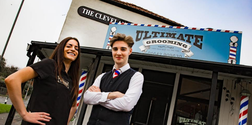 Budding barbers show they're a cut above for entrepreneur