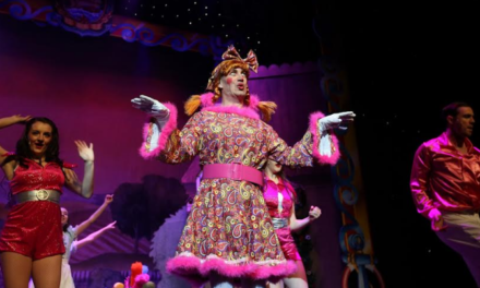 No calm this Christmas for Bishop Auckland costume designer