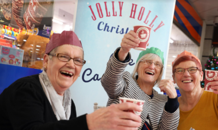 Stockton's Community Jolly Holly Christmas Underway at Castlegate Shopping Centre