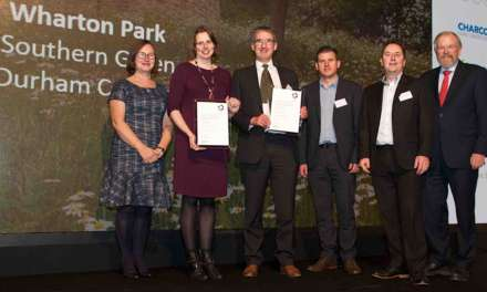 National recognition for Wharton Park restoration