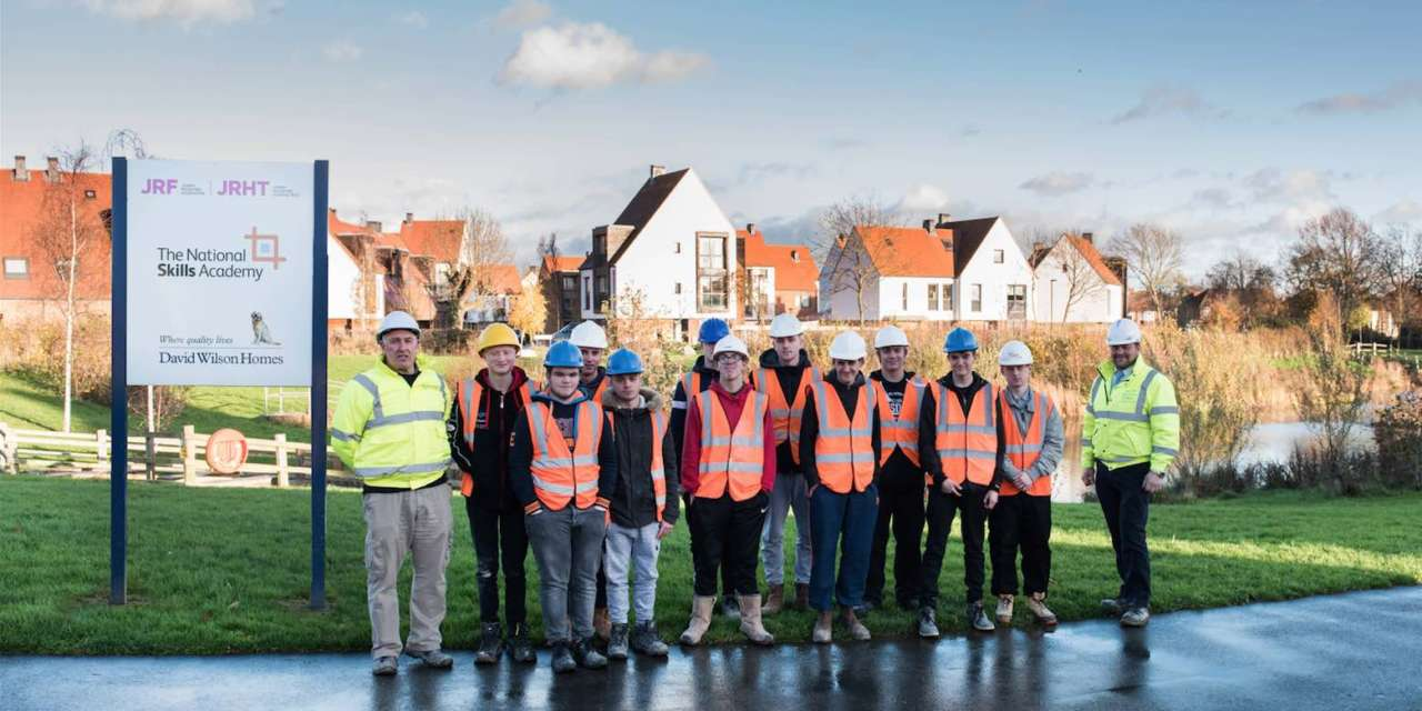 David Wilson Homes continues investment in the future of construction with local college visit