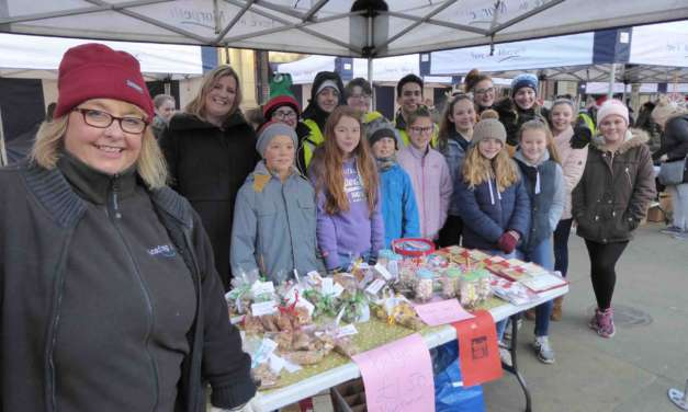 Christmas Markets give young people a leading link in business