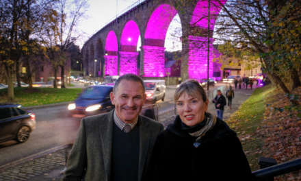 Permanent public art light installation planned for Durham Railway arches
