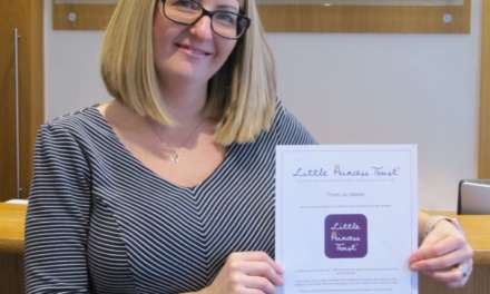 Solicitor donates hair to Little Princess Trust